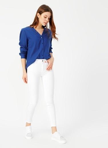 Limon Company Pantolon Beyaz